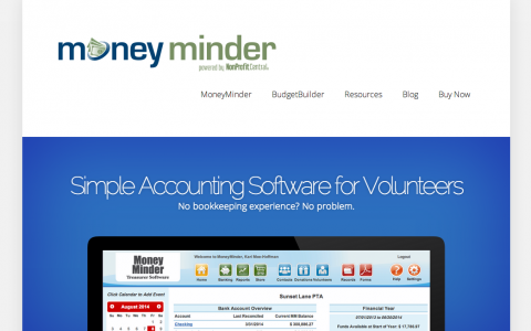 New MoneyMinder Website