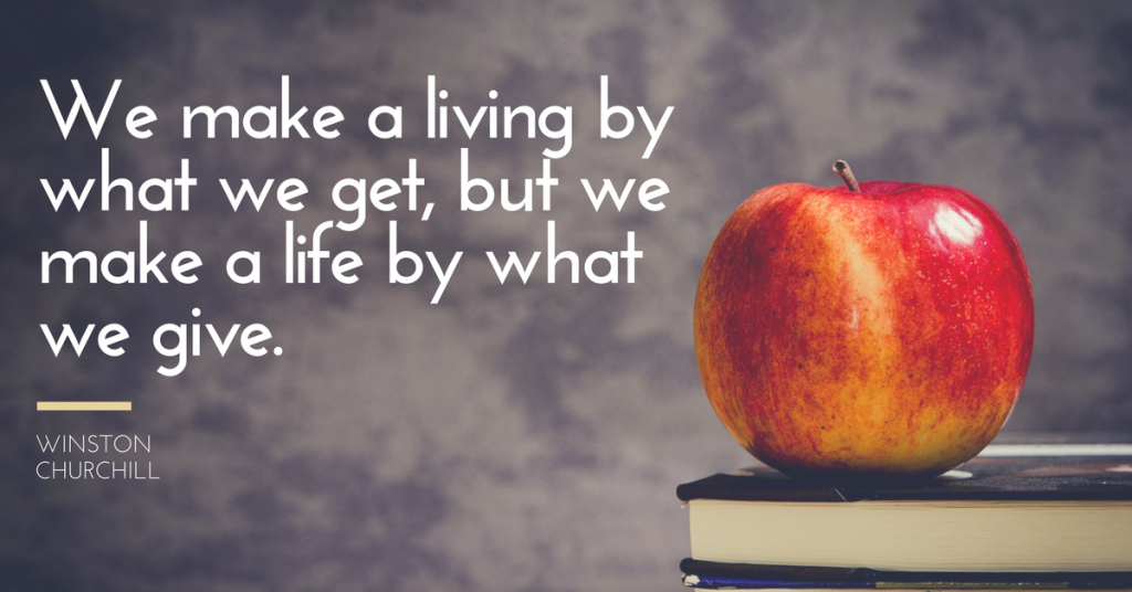 Living volunteer quote