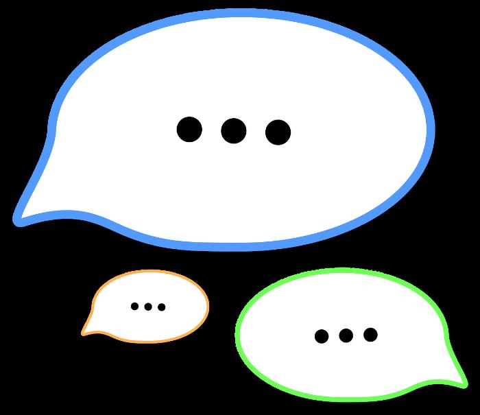 talk bubble
