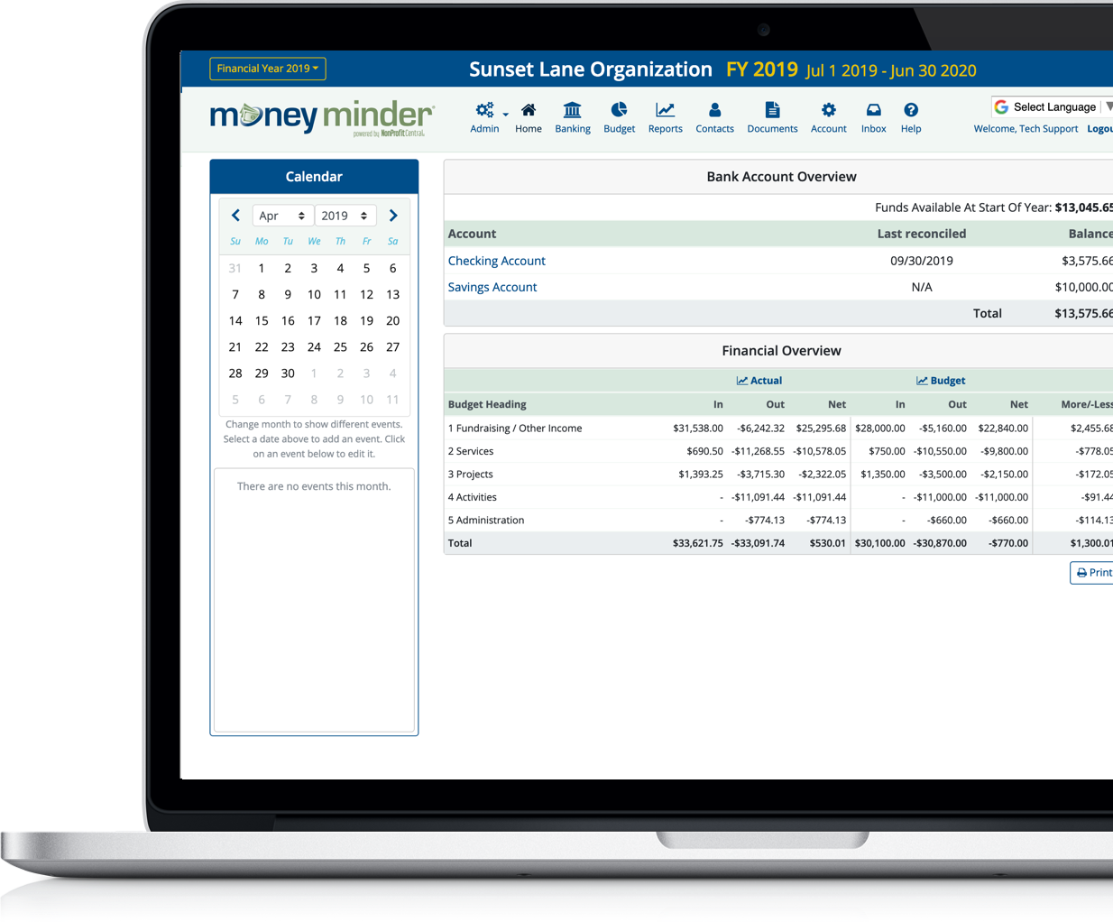 Simple Accounting Software - MoneyMinder