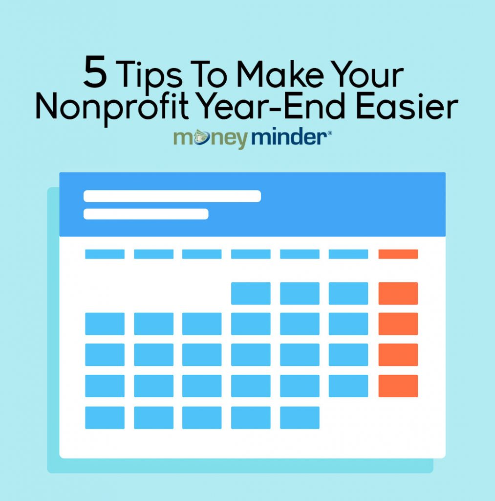 nonprofit year end tips