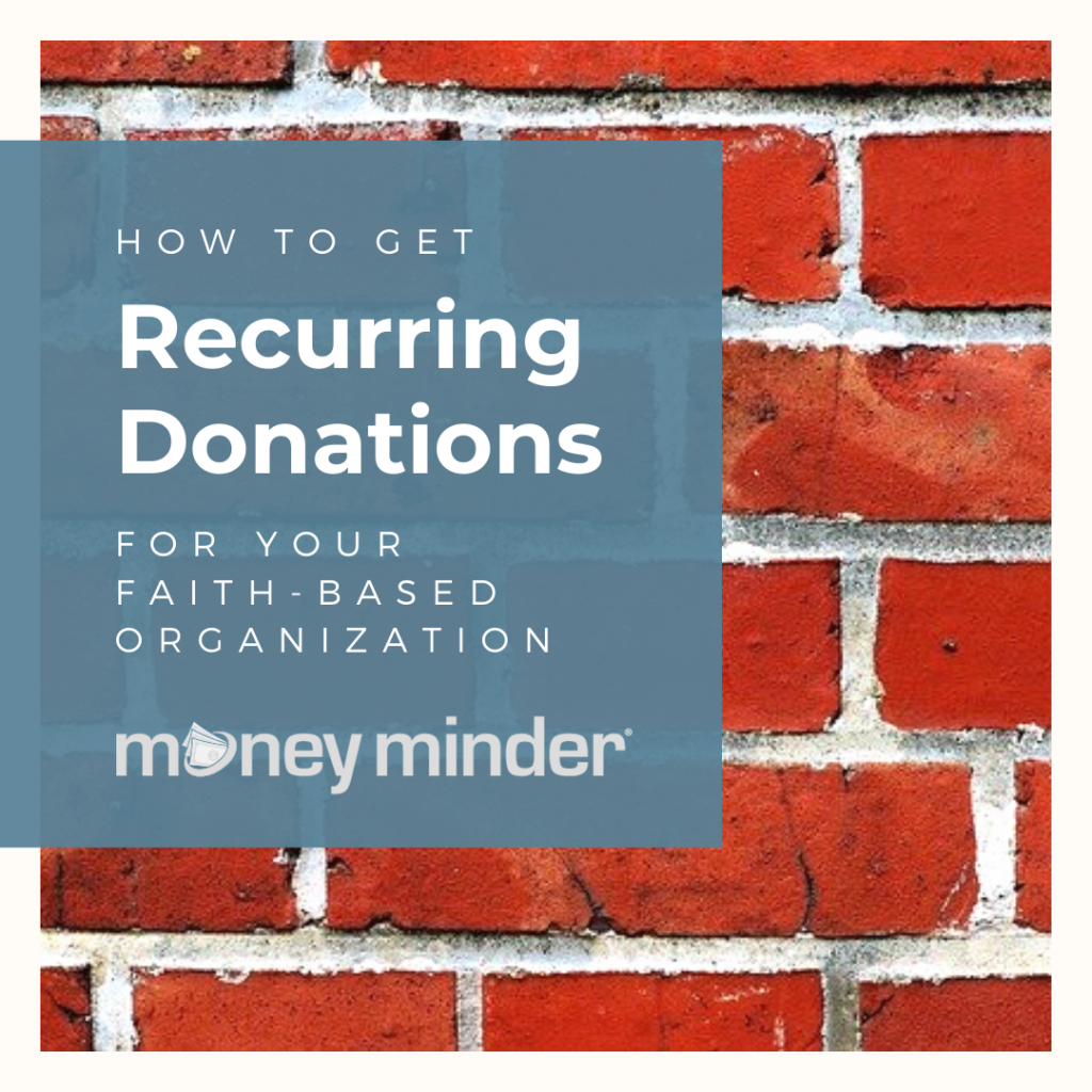set up recurring donations