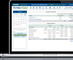 MoneyMinder Pro Accounting Screenshot