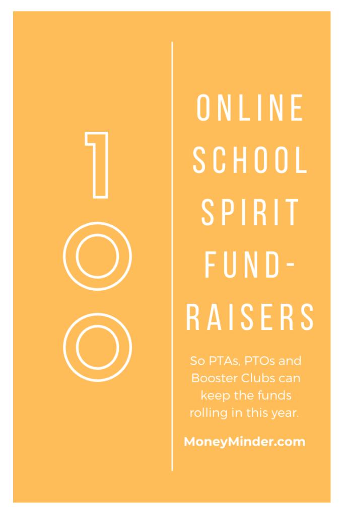 100 Online School Spirit Fundraising Ideas