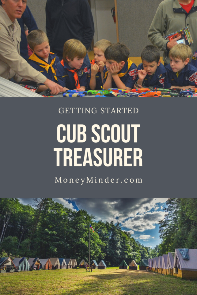 Getting Started as the Cub Scout Treasurer