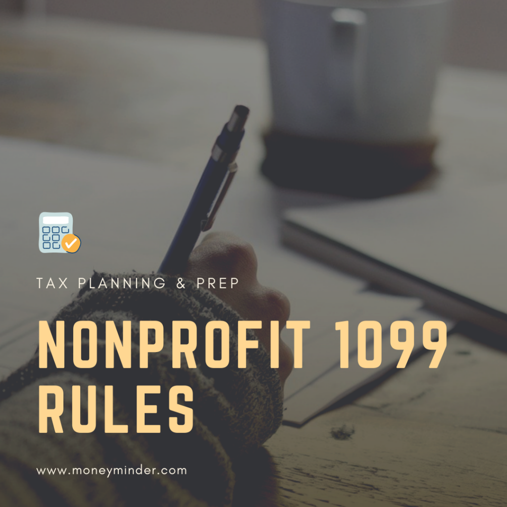 Nonprofit 1099 rules
