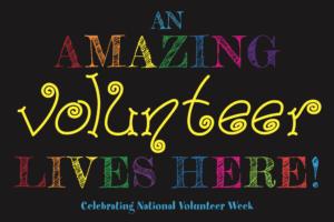 Amazing Volunteers Sign