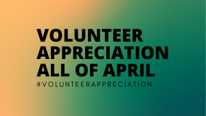 Volunteer Appreciation April Twitter