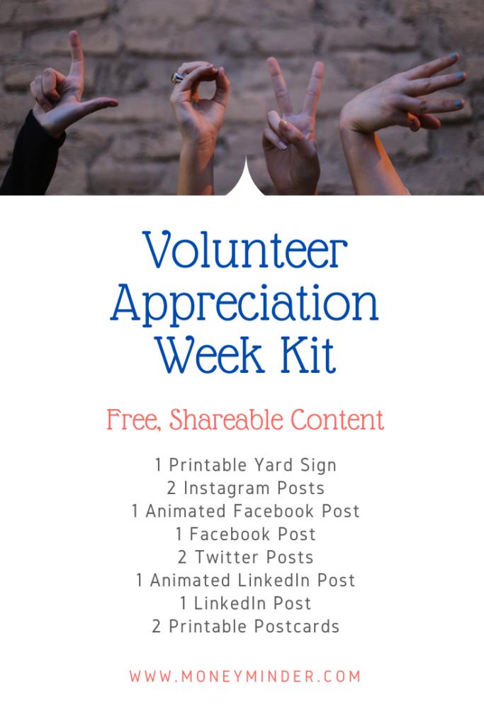 Volunteer Appreciation Share Kit