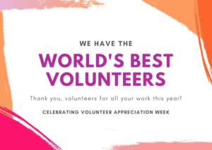 World's Best Volunteers