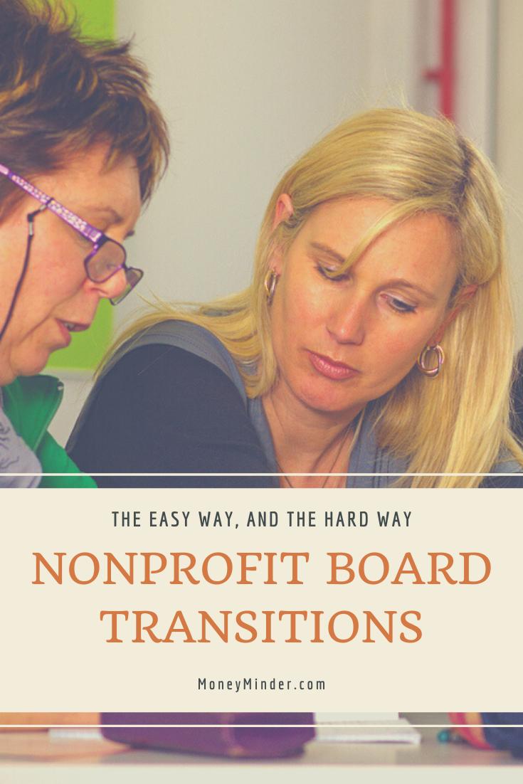 Nonprofit Board Transitions