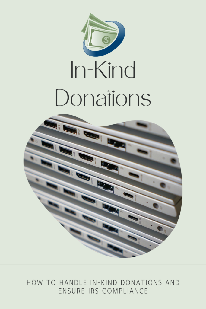 Handle In Kind Donations