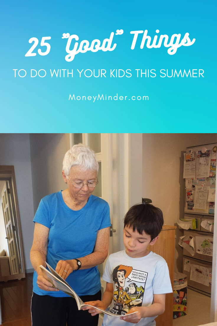 good things with kids