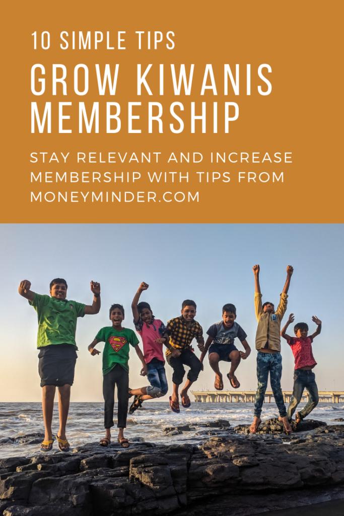 Grow Kiwanis Membership