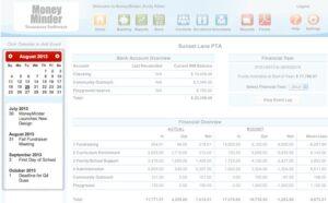 Treasury Software Calendar View