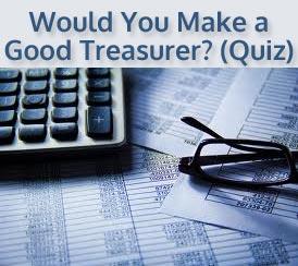 Treasurer Quiz