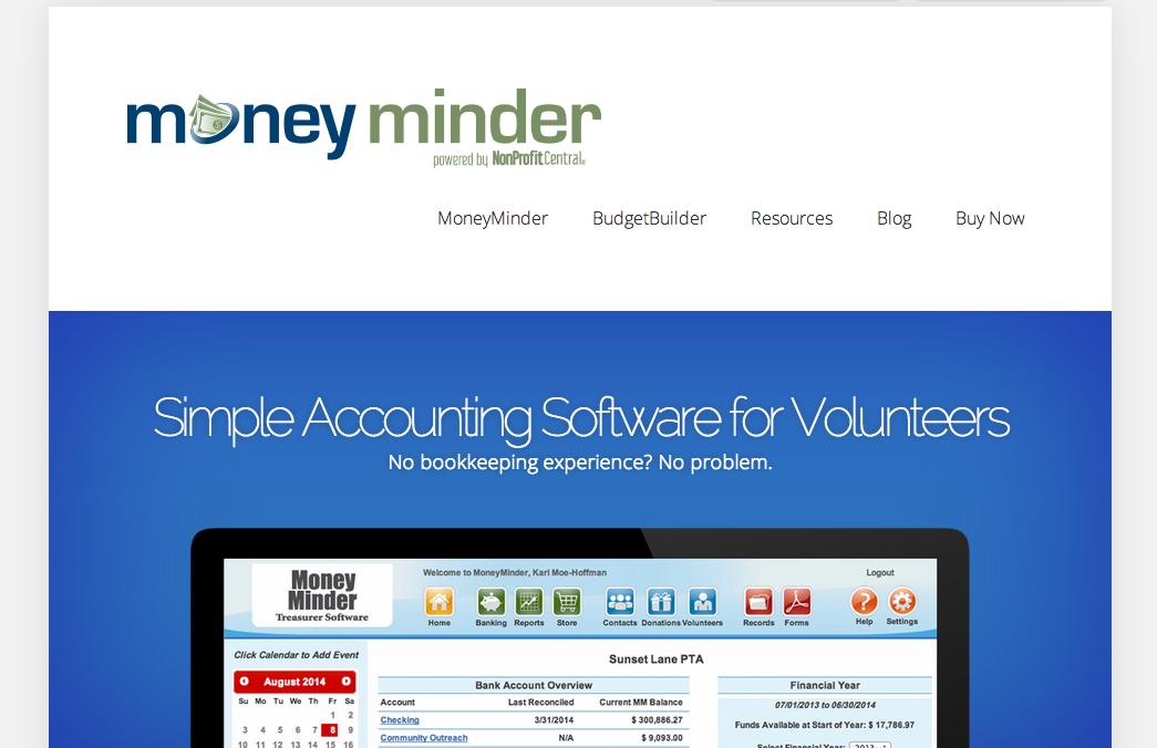 New MoneyMinder Website