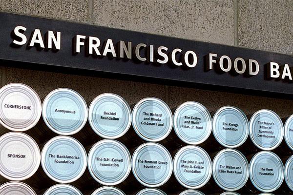 SF Food Bank Donor Wall